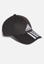 adidas Performance - 6 panel classic 3 stripes cap - black