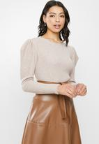 MILLA - Cable knit top - neutral