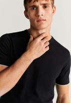 MANGO - Boiro T-shirt- black