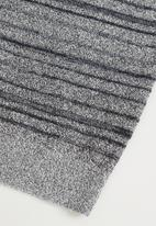 MANGO - Abrojo sweater - medium grey