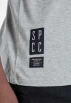 S.P.C.C. - Breton straight hem tee - grey