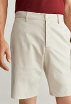 MANGO - Sansh bermuda shorts - light beige