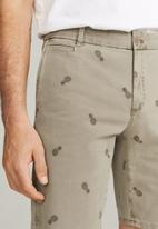 MANGO - Tinosh bermuda shorts - brown
