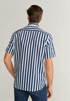 MANGO - Anuska-h shirt - navy