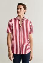 MANGO - Anuska-h shirt - red