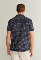 MANGO - Cris shirt - navy