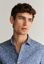 MANGO - Route shirt - navy