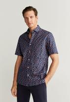MANGO - Sandi-h shirt - navy