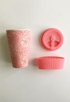 Ecoffee Cup - Poppy William Morris Bamboo Ecoffee Cup - 400ml