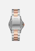 Fossil - Fb - 01 - silver & rose gold