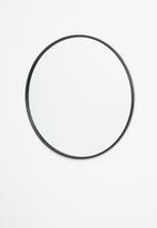 Sixth Floor - Iron round mirror - 60cm dia