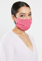 Superbalist - Animal print and pink mask pack - pink