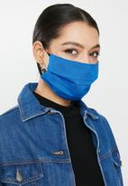 Superbalist - Blue tie dye and blue mask pack - blue