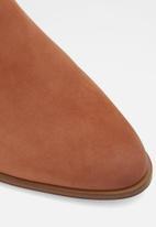 ALDO - Kaicia leather boot - medium brown