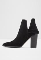 ALDO - Kendall suede boot - black