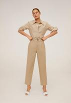 MANGO - Berlina trousers - brown