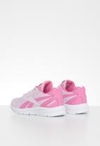 Reebok - Reebok rush runner - pink & white