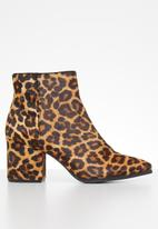 ALDO - Fraliss leather boot - brown