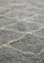 Sixth Floor - Nairi cotton tufted rug - grey