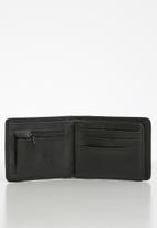 Quiksilver - Mack x wallet - black