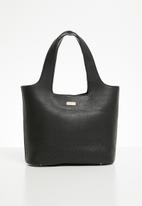 Pierre Cardin - Tammy cutout shoulder bag - black