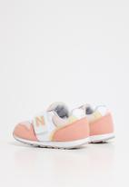 New Balance  - Baby girls Iz996 v2 sneaker - pink & yellow
