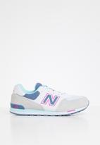 New Balance  - Girls classic 574 v1 sneaker - light grey