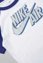 Nike - Futura connect the dots tee - white & blue