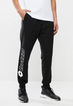 lotto - Smart sweatpants logo - black