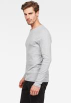 G-Star RAW - Base long sleeve 1-pack - grey