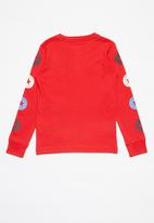 Converse - Converse all star sleeve - red