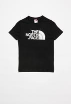 The North Face - Boys easy tee - black & white