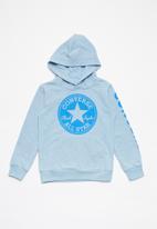 Converse - Converse overdye hoodie - blue
