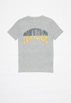 Converse - Converse boys collegiate splice tee - grey