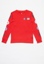 Converse - Converse boys all star ctp sleeve - red