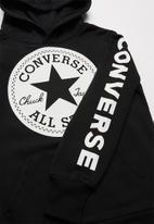 Converse - Converse boys conv script ctp hoodie - black