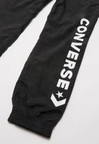 Converse - Converse boys wordmark woven pant - black