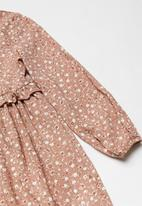 Superbalist Kids - Girls printed dress - pink