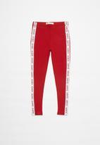 Levi's® - Levi's logo tape legging - red