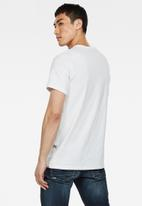 G-Star RAW - Boxed gr r t short sleeve - white