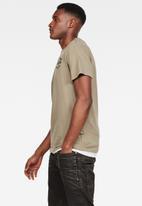 G-Star RAW - Originals logo gr r t short sleeve - shamrock