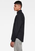 G-Star RAW - Dressed super slim fit shirt - black