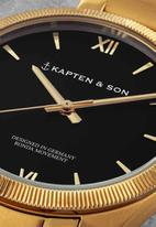 Kapten & Son - Crush - gold black steel