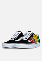 Vans - Ua old skool (multi animal) - rasta/black