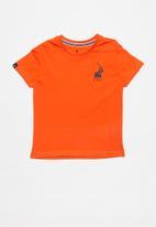 POLO - Boys Rick short sleeve tee - orange