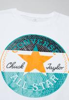 Converse - Converse chuck patch triple split - white
