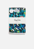 Happy Socks - Leopard boxer - turquoise