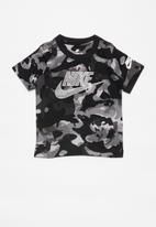 Nike - Nike boys camo futura - black