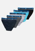 Bear - Bear supreme mini 5 pack briefs - multi