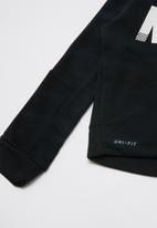 Nike - Nike boys dry fz hoodie - black